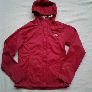 North Face Jacket Pink Venture Hyvent 2.5 Raincoat